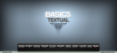 BASIC5 TEXTUAL by OtisBee
