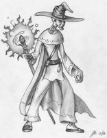 Undead Wizard by TheMightyGorga