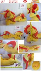 My Little Cuddle: Sunset Shimmer by BlackWater627