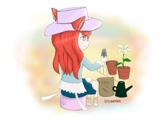 [Request] Gardening by cutelightangel