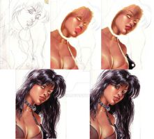 painting process-1 by taylor8