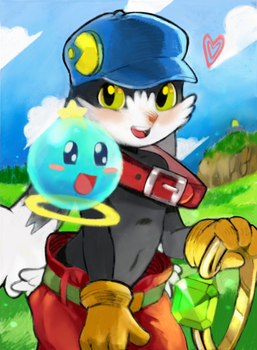 Klonoa 15th Anniversary!! by The8Mice