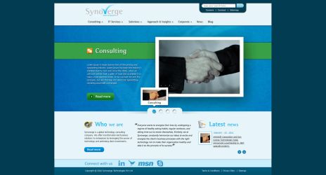 Synoverge Website by crazyfcuker