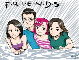 my friends family by Lowis13