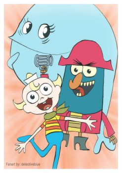 F: Flapjack Gang by Anrachman