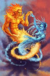 Original: Fire and Ice by Risachantag