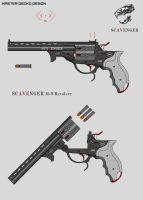Scavenger M-9 Revolver by Master-Gecko-117