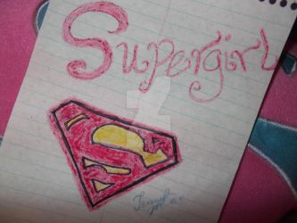 Supergirl Symbol by PrincessStarfire