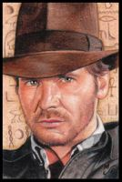 Raiders Indy Sketch Card by MJasonReed