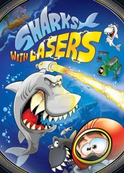 Sharks With Lasers Cover by markador