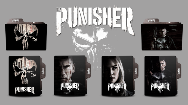 The Punisher Folder Icon by faelpessoal