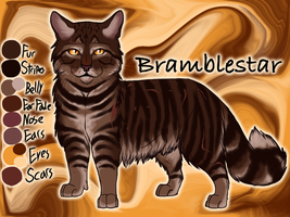 Bramblestar of ThunderClan - Silent Sacrifice by Jayie-The-Hufflepuff