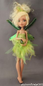 MH monster high HOWLEEN fairy repaint PERI by phairee004