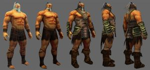Barbarian Lo-Poly by Konartist-Portfolio