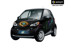 Smartcar entry 2 -space- by pikachu6123