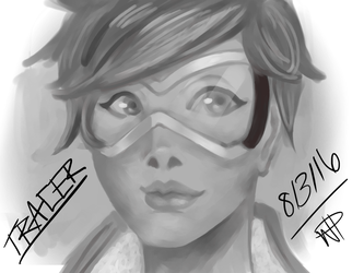 Tracer Paint by Okami1713