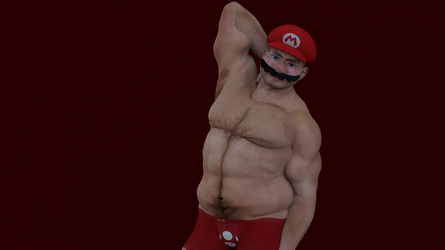 Mario Love You Long Time. by The--Grimreaper