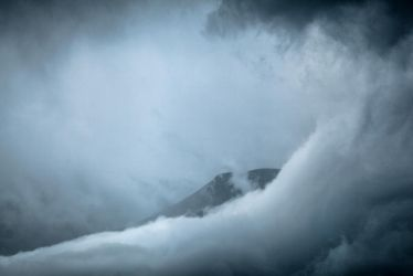 Clouds over Banff National Park by vlad-m
