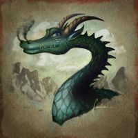 Zordic the Dragon by dewmanna