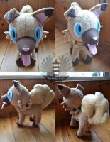 Iwanko/Rockruff Plush Pokemon