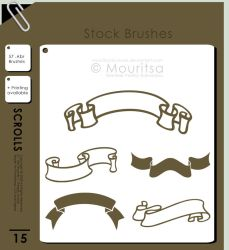 Brush Pack - Scrolls by iMouritsa