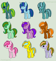 Single ADoptable Batch by GuessWhoLovesAdopts