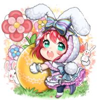 [Love Live Sunshine] Happy Easter [Ruby Kurosawa] by AliceVu134