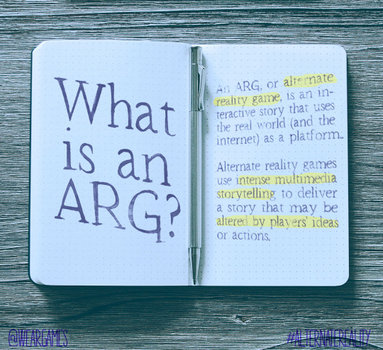 What Is An Arg? by WeARGames
