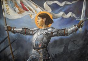 Joan of Arc by dashinvaine
