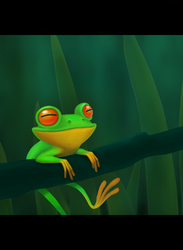 Happy Frog by carny87