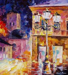 Night Of Faith by Leonid Afremov by Leonidafremov