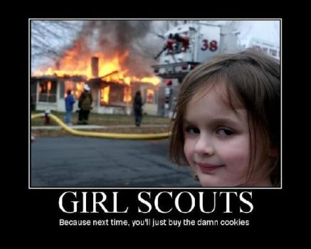 Girl Scout Motivation by lizcat14