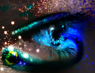 Paint-on-Photos: Peacock Magic by Sonicgirl582