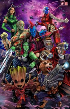 Guardians Of The Galaxy Vol2 by TyrineCarver