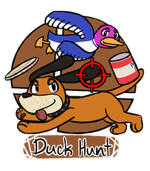 010815_0002: Duck Hunt by BuizelKnight