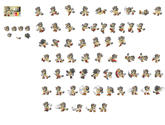 Houdini Sprites by EchidnaPower