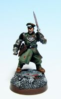 Cadian Captain by Kufspawn