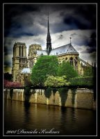 Notre-Dame Cathedral Paris by Digitalbaby