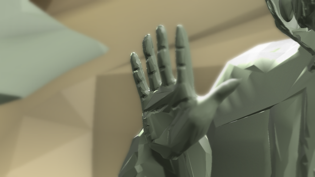 Day 23 - Hand (L) by wingsyo