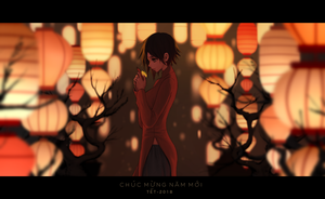 Lunar New Year by dishwasher1910