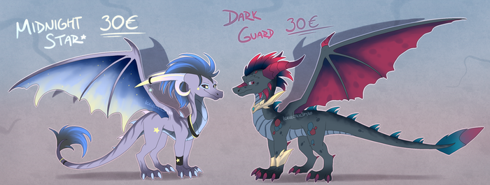 Dragon Adoptables - June batch - CLOSED by IcelectricSpyro