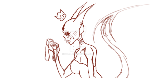 Shinx -QUEEN- .:WIP:. by Shina-X