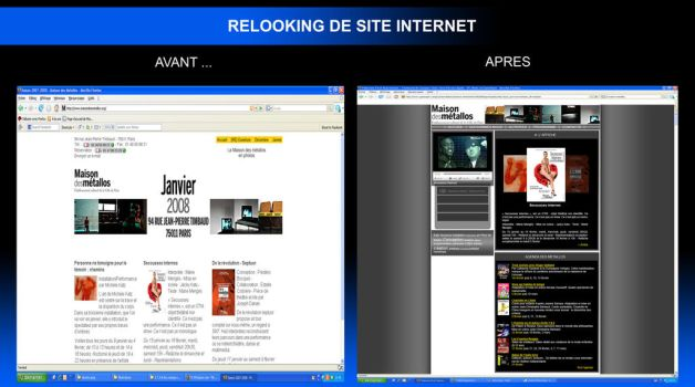 relooking site internet by stahlk