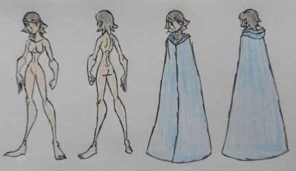 Abi, Anatomy and Cloak by StoneMan85