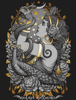 Tribal Fusion belly dance by Medusa-Dollmaker