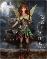 Zarina- The Pirate Faerie by DigiCuriosityDesigns