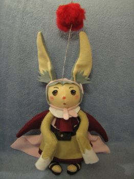 Gurdy - Moogle Plush by Infernoferren
