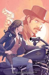 Wynonna Earp Legends: Doc Holliday #1 Cover by ChrisEvenhuis