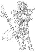 Aellessa the Ordin -old design by Timbone
