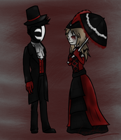 Contest Entry: Victorian Kage and Sadie by GingaAkam